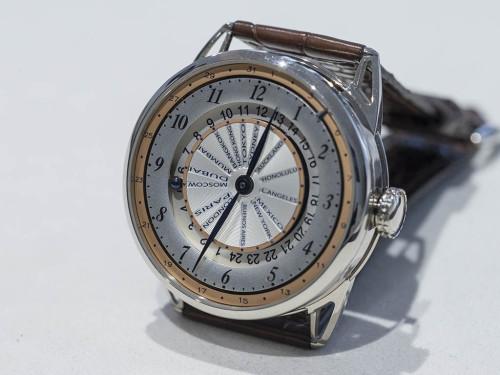 De Bethune DB25 World Traveller Watch Hands-On