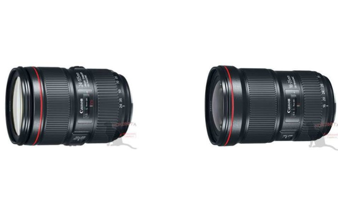 EF 16-35mm f/2.8L III & EF 24-105mm f/4L IS II Specs and Price Leaked