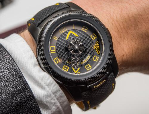 Ulysse Nardin FreakWing Artemis Racing Limited Edition Watch Hands-On