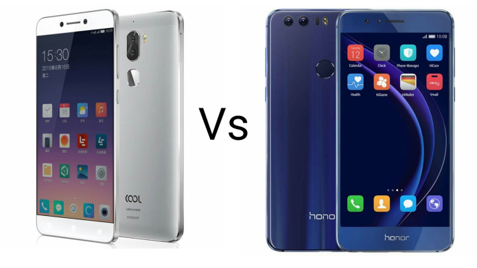 Cool 1 Vs Honor 8 Comparison
