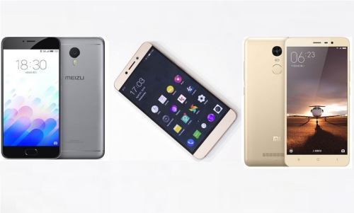 LeEco Le 2 vs Xiaomi Redmi Note 3 vs Meizu m3 Note : Price, Full Phone Specification Compared