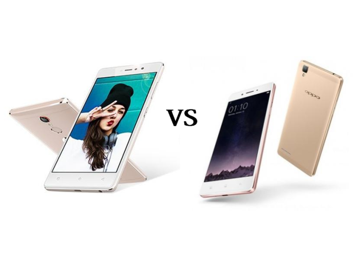 Comparison Gionee S6s Vs OPPO F1s