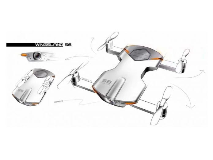Wingsland S6 Drone: Born To Compete Zerotech Dobby