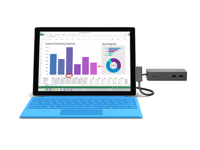 Microsoft Surface Dock Review : Turn Surface Into a Desktop