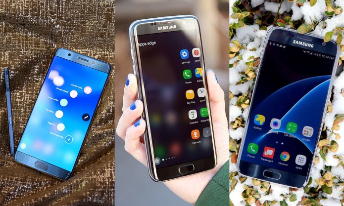 Galaxy Note 7 vs S7 and S7 Edge : Which One is Right for You?