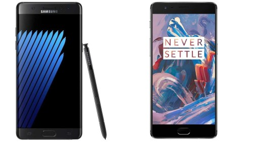 Galaxy Note 7 vs OnePlus 3: Which is best?