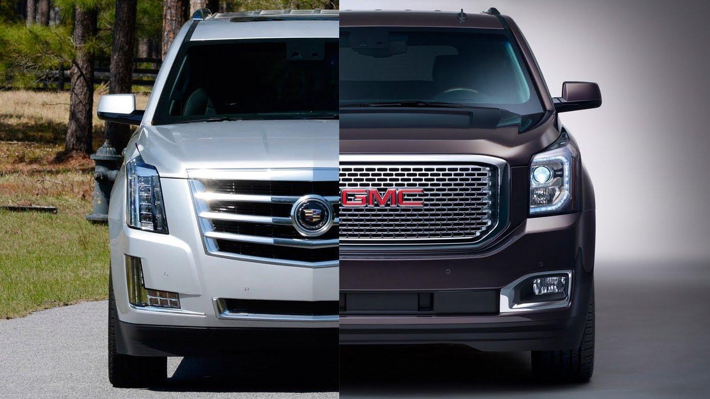 Cadillac Escalade vs GMC Yukon Denali Buy This Not That  GearOpen