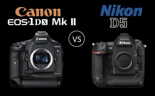 Flagships compared : Canon EOS-1D X Mark II versus Nikon D5