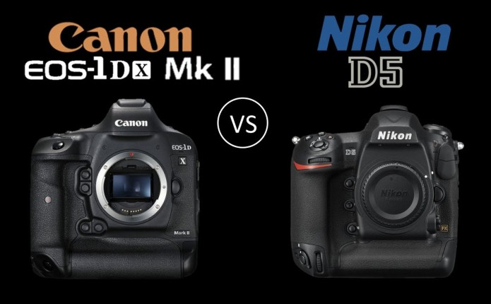 Flagships compared : Canon EOS-1D X Mark II versus Nikon D5