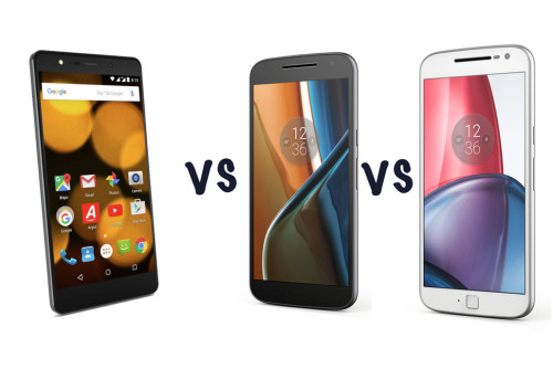 Bush E3X vs Moto G4 vs Moto G4 Plus: What's the difference?