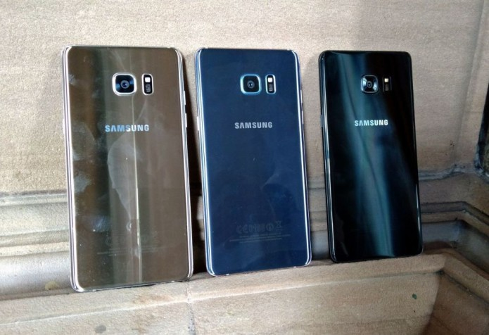 Galaxy Note7 vs. S7 edge vs. Note5
