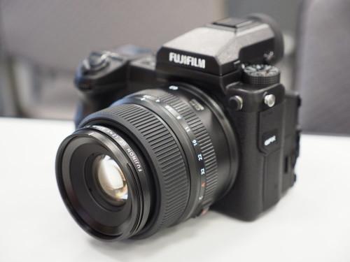 Fujifilm GFX 50S hand-on:
