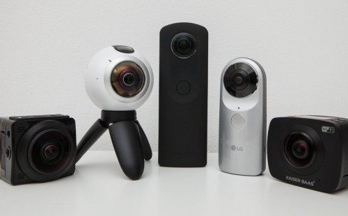 Wareable big test : 5 360-degree cameras go head-to-head