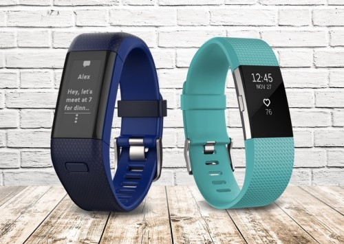 Fitbit Charge 2 vs. Garmin Vivosmart HR+ : The two best activity bands in the game go head-to-head