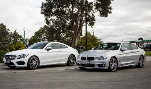 Comparison : Mercedes-Benz C300 Coupe v BMW 430i