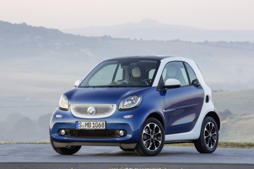 2016 Smart Fortwo Review: Tiny car, redux