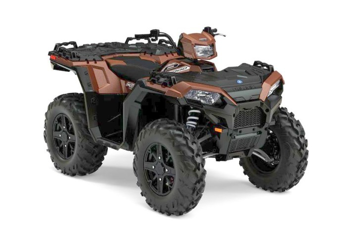 2017 POLARIS SPORTSMAN XP1000: TEST