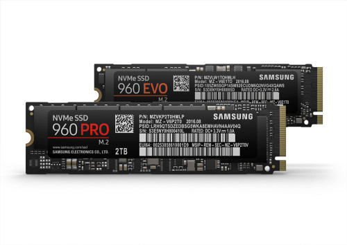 Samsung unleashes 960 Pro and 960 Evo SSDs with ridiculous write speeds