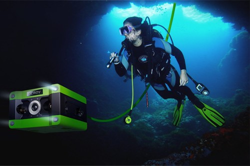 CCROV is the world's first underwater 4K drone – and it's making a splash on Indiegogo this week