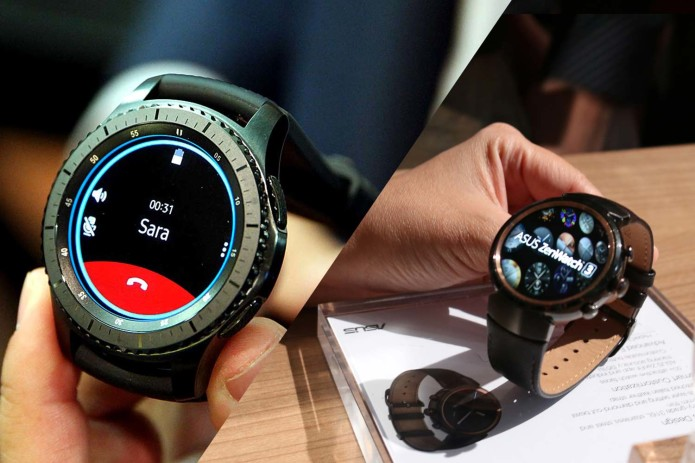 Samsung Gear S3 vs. Asus ZenWatch 3 : There's No ...