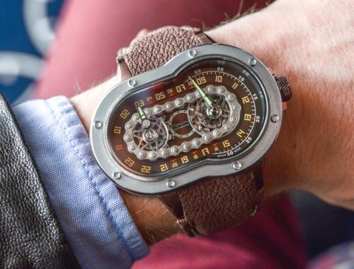 Azimuth SP-1 Crazy Rider 'Bike Chain' Watch Hands-On