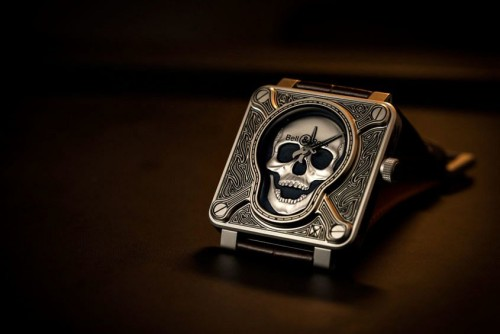 Bell & Ross BR01 Burning Skull 'Tattoo' Watch Hands-On