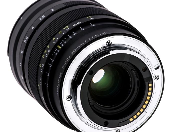 Tokina Firin 20mm f/2.0 Full Frame E-mount Lens Announced