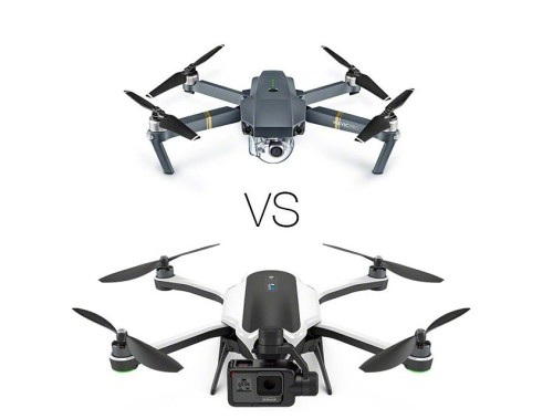 Comparison : GoPro Karma vs DJI Mavic Pro