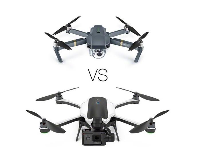 Comparison : GoPro Karma vs DJI Mavic Pro