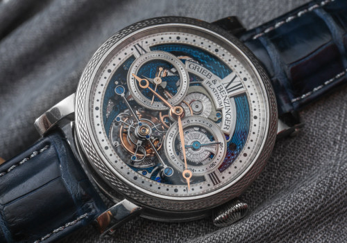 Grieb & Benzinger Blue Merit Watch Based On A. Lange & Söhne Tourbillon Hands-On