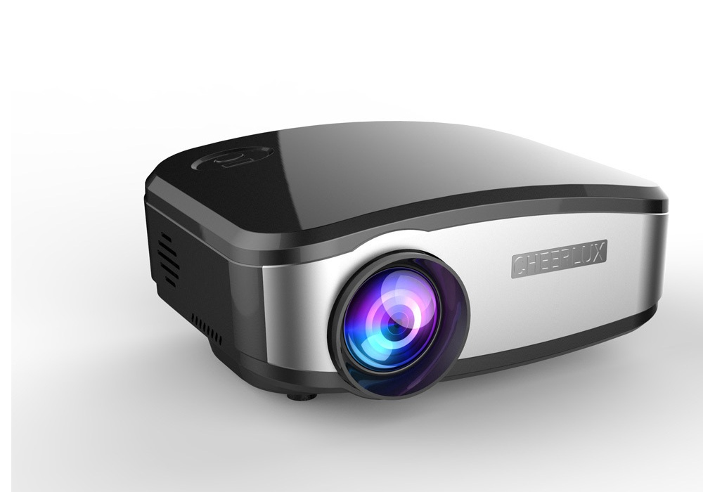 Cheerlux c6 mini projector review portable yet powerful for Best portable projector 2016