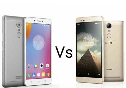 Lenovo K6 Note vs Lenovo Vibe K5 Note Comparison