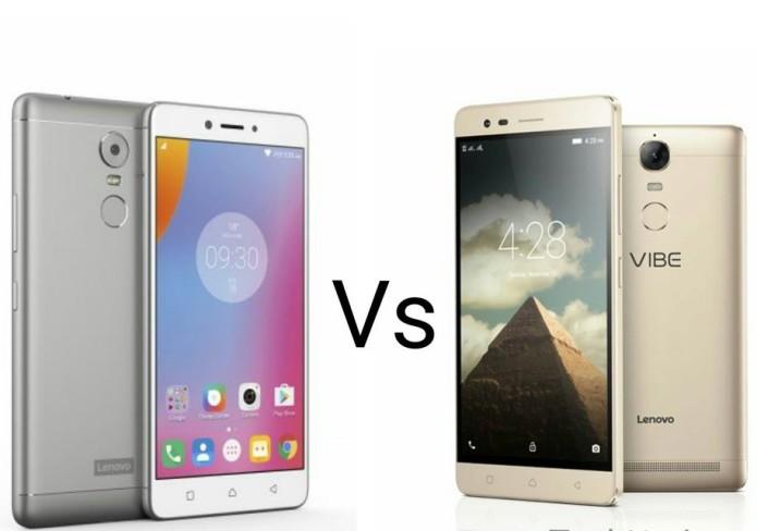Lenovo K6 Note vs Lenovo Vibe K5 Note Comparison