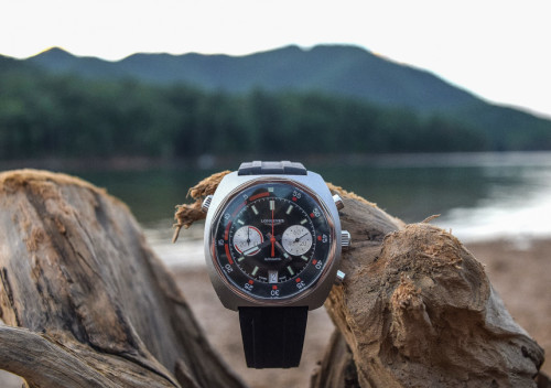 Longines Heritage Diver Chronograph Watch Review