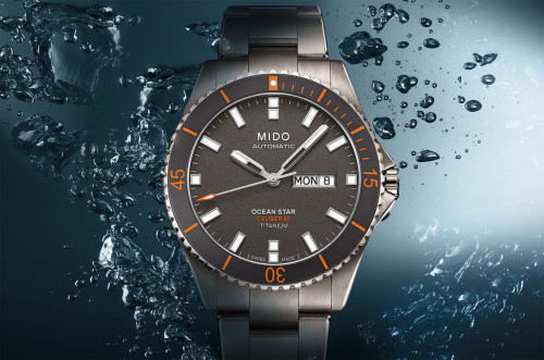 Mido Ocean Star Captain V Titanium Watch Hands-On