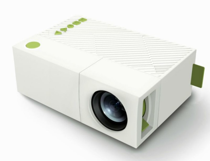 Excelvan yg310 review portable cheap projector gearopen for Portable pocket projector reviews