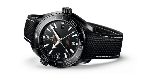 Omega Seamaster Planet Ocean GMT Deep Black Watch Review