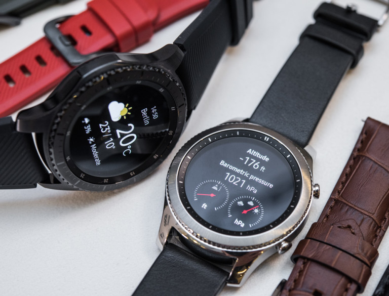 Samsung Gear S3 Frontier vs S3 Classic: What's the ...