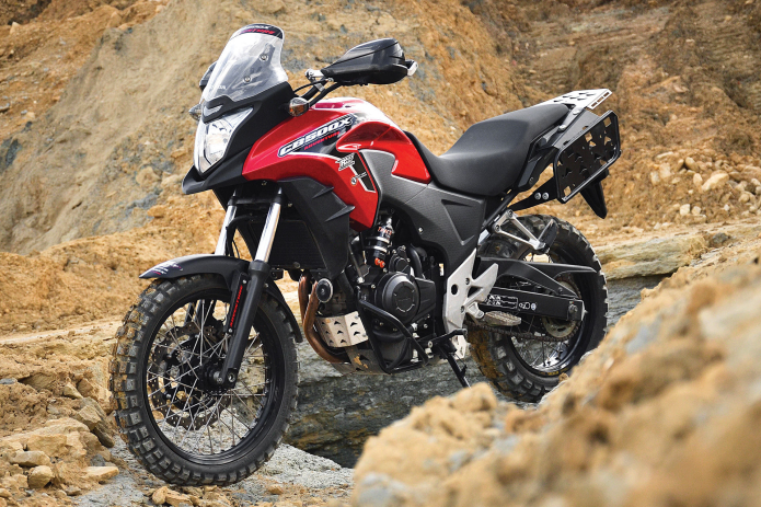 Honda CB500X Adventure Kit by Rally-Raid Products