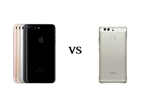 iPhone 7 Plus Vs Huawei P9 Dual Camera Comparison!