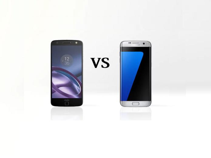 Moto Z Vs Samsung Galaxy S7 Edge Comparison