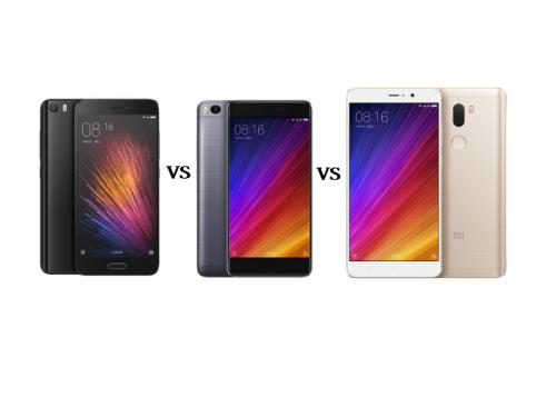 Xiaomi Mi 5 vs. Xiaomi Mi 5S vs. Xiaomi Mi 5S Plus Comparison – Clash of the Generations!
