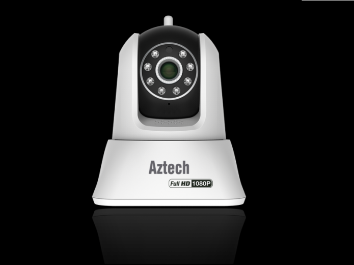 AZTECH WIPC411FHD REVIEW : WIRELESS IP CAMERA WITH PAN AND TILT