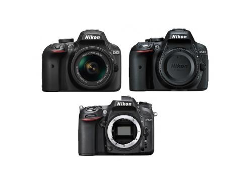 Nikon D3400 vs D5300 vs D7100 Comparison