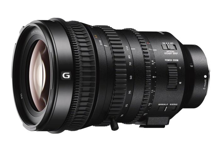 Sony announces the E PZ 18-110mm F4 G OSS E-mount lens