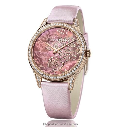Chopard L.U.C XP Esprit De Fleurier Peony Watch Hand-on: