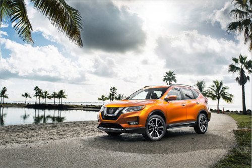 2017 Nissan Rogue Hits Miami Auto Show With Hybrid Power