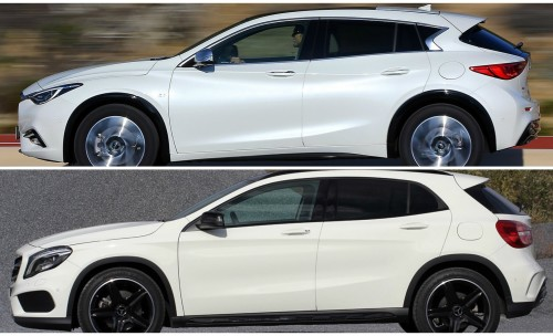 Mercedes-Benz GLA-Class vs. Infiniti QX30 : Buy This, Not That