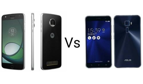 Moto Z Play Vs Asus ZenFone 3 Comparison