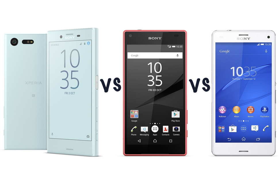 sony xperia x compact vs z5 compact vs z3 compact what s the difference gearopen. Black Bedroom Furniture Sets. Home Design Ideas